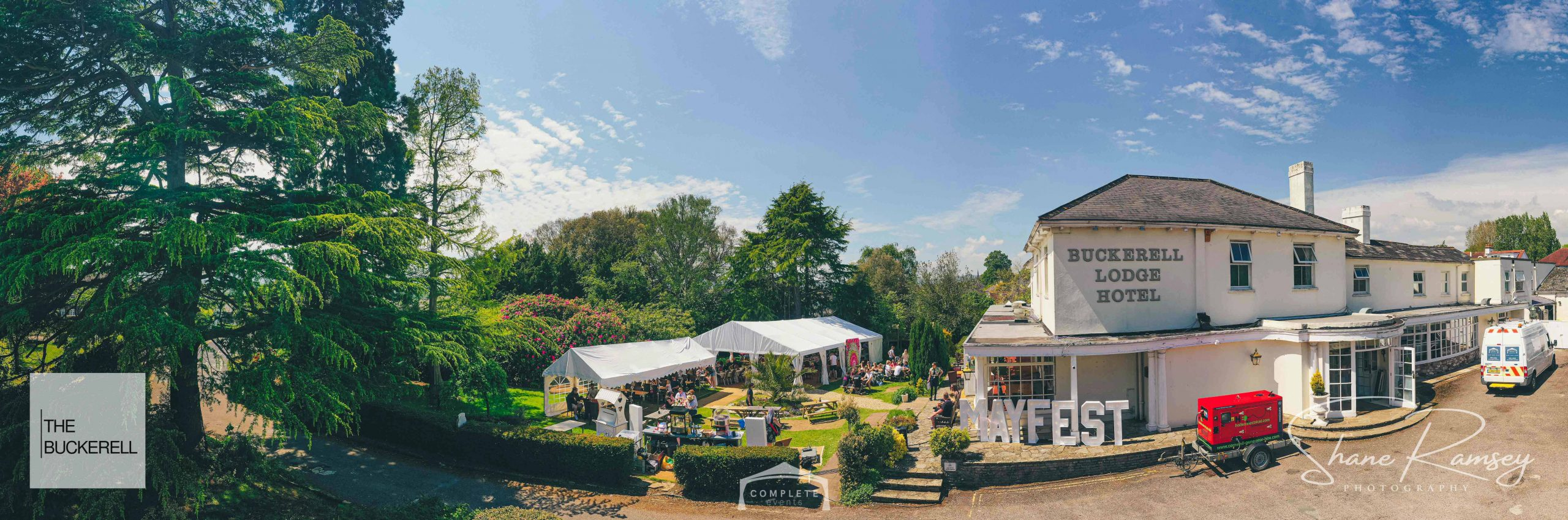 party marquee hire exeter